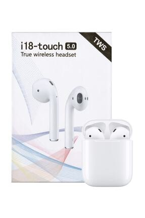 Tws I18-touch Bluetooth Kulaklık (APPLE İPHONE ANDROİD UYUMLU) 0
