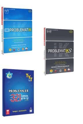 Tonguç Akademi Problematik 321 321 Rehber Matematik Problemler Ve Problematiks 3'lü Set 0