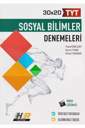 Hız ve Renk Yayınları Tyt Sosyal Bilimler 30 x 20 Denemeleri 0