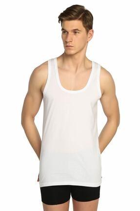 Picture of Erkek Beyaz Pamuklu Klasik Penye 6'lı Paket Atlet
