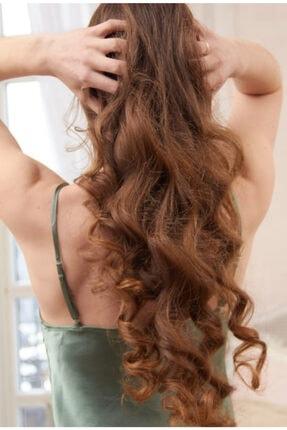 icurly - By Healthy Hair - Kırmızı - Isısız Saç Şekillendirme Seti 2