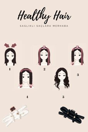 icurly - By Healthy Hair - Kırmızı - Isısız Saç Şekillendirme Seti 3