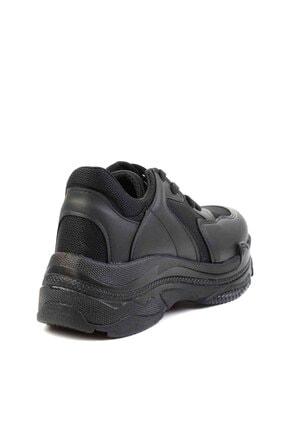 Bambi Siyah Kadın Sneaker K01836001009 3