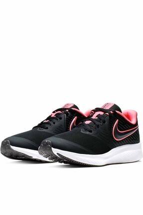 Nike Kadın Siyah Spor Ayakkabı Aq3542-002 2