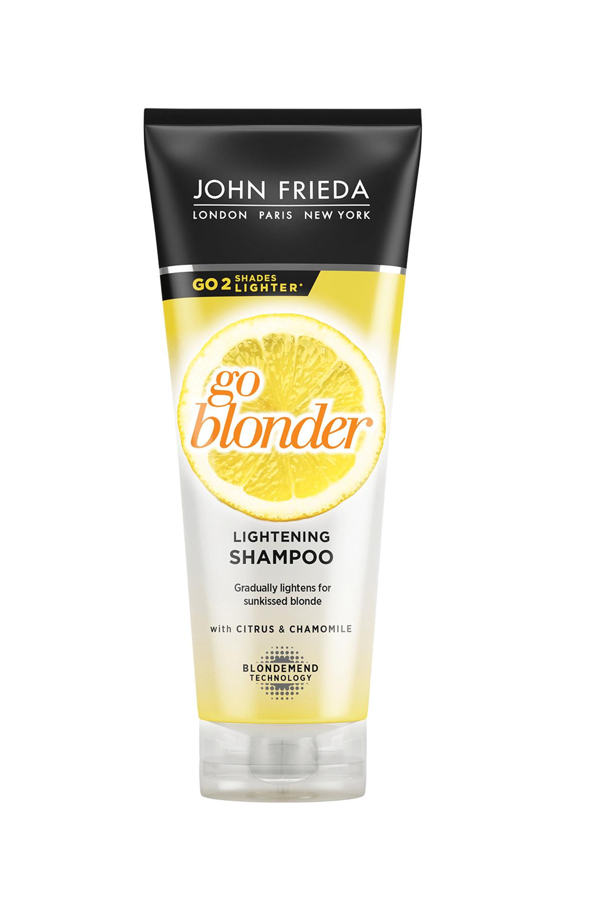 John Frieda Sarı Saçlara Özel Işıltı Veren Şampuan 250 ml 0