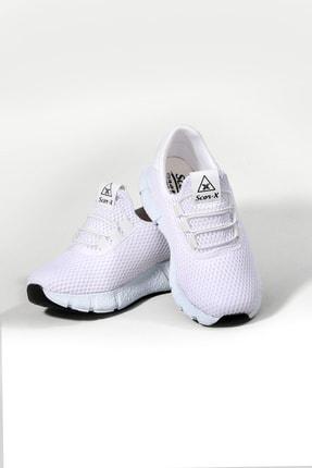 Pukka Collection Unisex Çocuk Beyaz Bağcıksız Spor Spor Ayakkabı 1