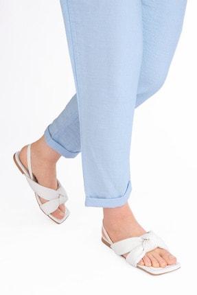 Marjin Kadın Sandalet Helginbeyaz 3