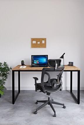 Ceramical Çalışma Masası Bilgisayar Masası Ofis Masası - Atlantik Çam 60 X 140 Cm 1