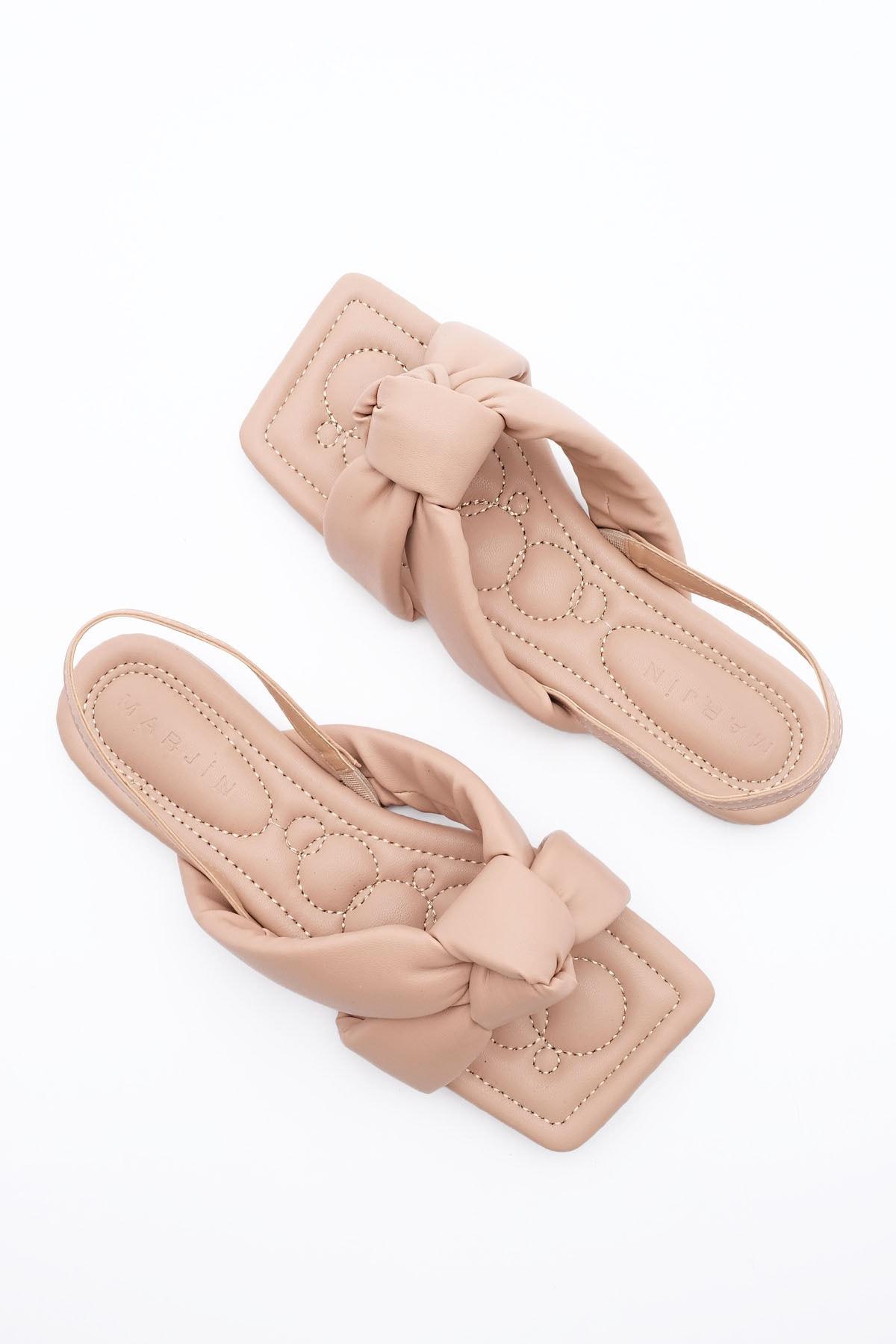 Kadın Bej Helgin Sandalet