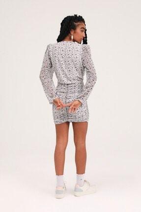 Quzu Kadın Elbise Ekru 4