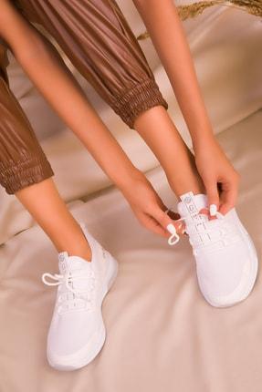 Soho Exclusive Beyaz Kadın Sneaker 16278 2
