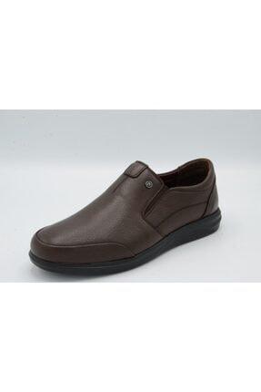 Erkek Bağsız Comfort Ayakkabı Kahve/kahve/41 Numara ALIDEN-8606