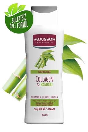 Mousson Kolajen & Bambu Içeren Yoğunlaştırıcı Hacim Veren Saç Bakım Krem Ve Maskesi 365 ml 0