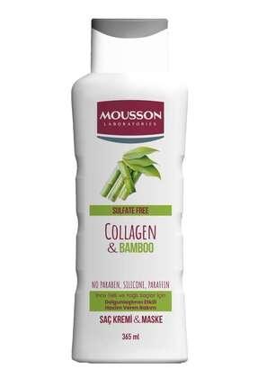Mousson Kolajen & Bambu Içeren Yoğunlaştırıcı Hacim Veren Saç Bakım Krem Ve Maskesi 365 ml 3