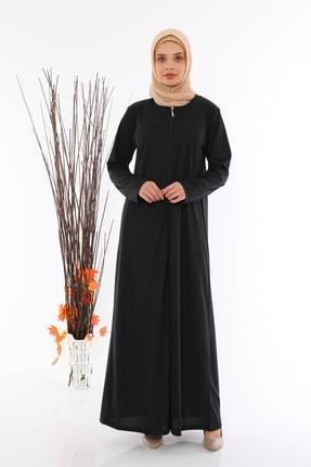 medipek Kadın Fermuralı Namaz Elbisesi Ferace 0