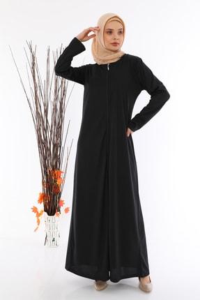 medipek Kadın Fermuralı Namaz Elbisesi Ferace 1