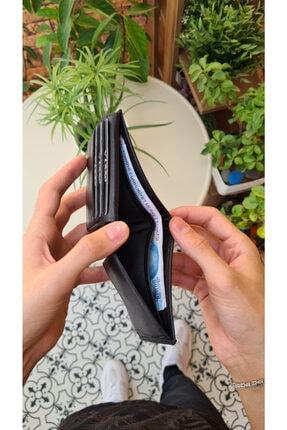 VİSSO 273 Hakiki Deri Bozuk Para Cepli Cüzdan Erkek Kadın Cüzdan Çanta 2
