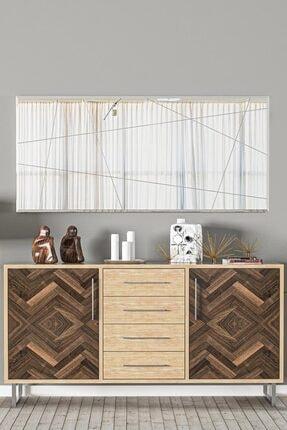 bluecape Antre Hol Koridor Dresuar Konsol Duvar Salon Mutfak Banyo Wc Ofis Çocuk Yatak Aynası  60x130cm 2