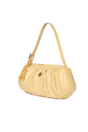 US Polo Assn Sarı Kadın Omuz Çantası Us8395 2