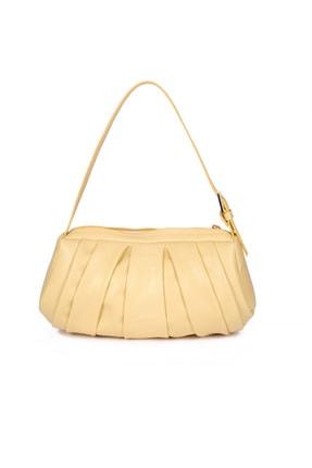 US Polo Assn Sarı Kadın Omuz Çantası Us8395 3