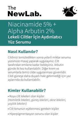 The NewLab Niacinamide 5% + Alpha Arbutin 2% - Lekeli Ciltler Için Yüz Serumu 1