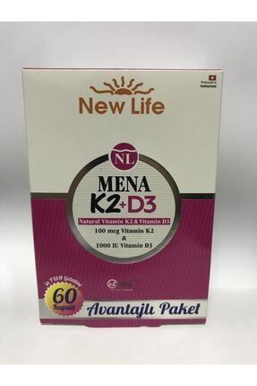 New Life Mena K2+d3 (100 Mcg K2 1000 Iu D3) 60 Kapsül 0