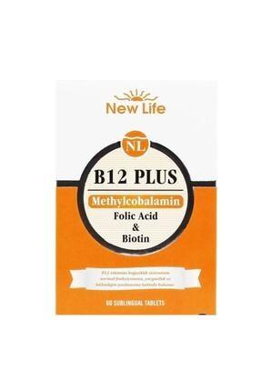 New Life B12 Plus Dilaltı 60 Tablet 2'li Paket 1