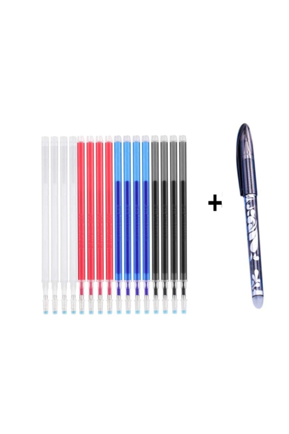 Isı Ve Ütu Ile Uçan 16 Adet Kalem Içi 4 Renk Kalem Ucu 1. Mm