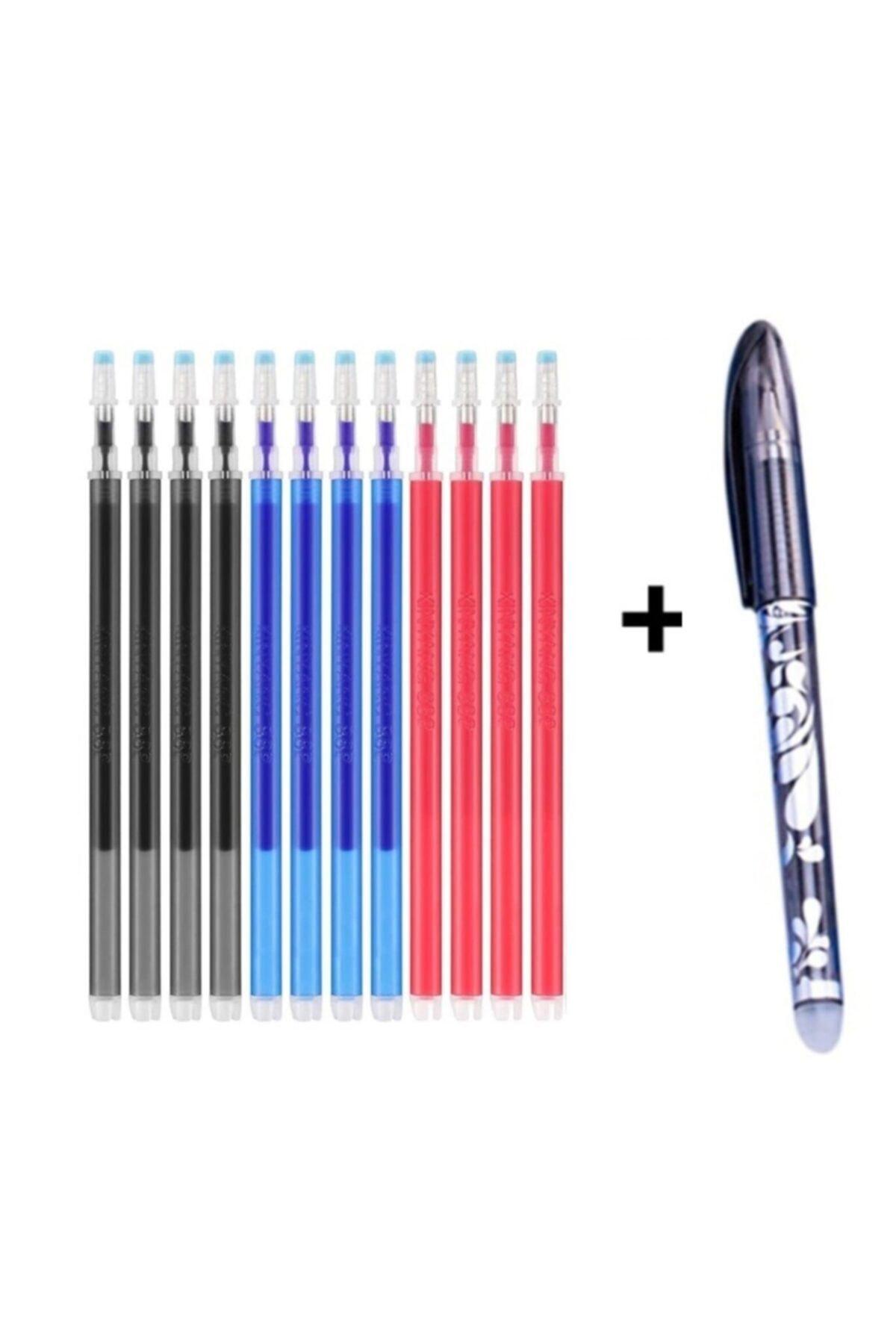 Isı Ile Uçan 15 Adet Kalem Içi Karışık 3 Renk ( 1.mm Kalem Ucu)