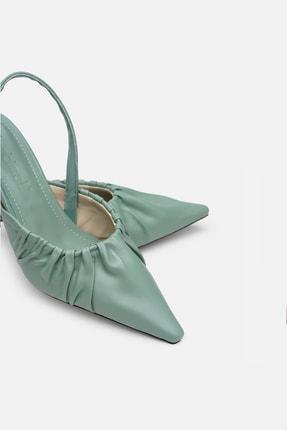 Jorbinol Kadın Yeşil Ayakkabı 2