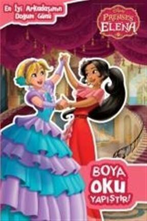 Doğan Egmont Yayıncılık En Iyi Arkadaşımın Doğumgünü Disney Prenses Elena Boya Oku Yapıştır 0