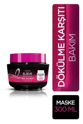 Elseve L'oréal Paris Komple Direnç Dökülme Karşıtı Güç Maskesi 300 ml 0