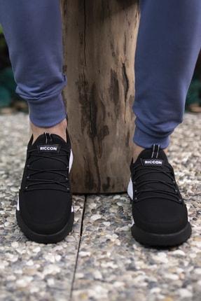 Riccon Siyah Beyaz Unisex Sneaker 00125052 3