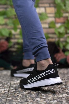 Riccon Siyah Beyaz Unisex Sneaker 00125052 4