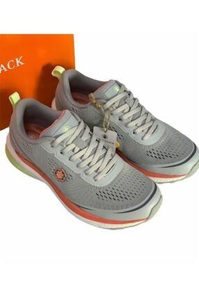 Lumberjack Kadın Açık Gri Memory Foam (hafıza Taban) Rahat Hafif Sneaker Spor Ayakkabı Cesar 2
