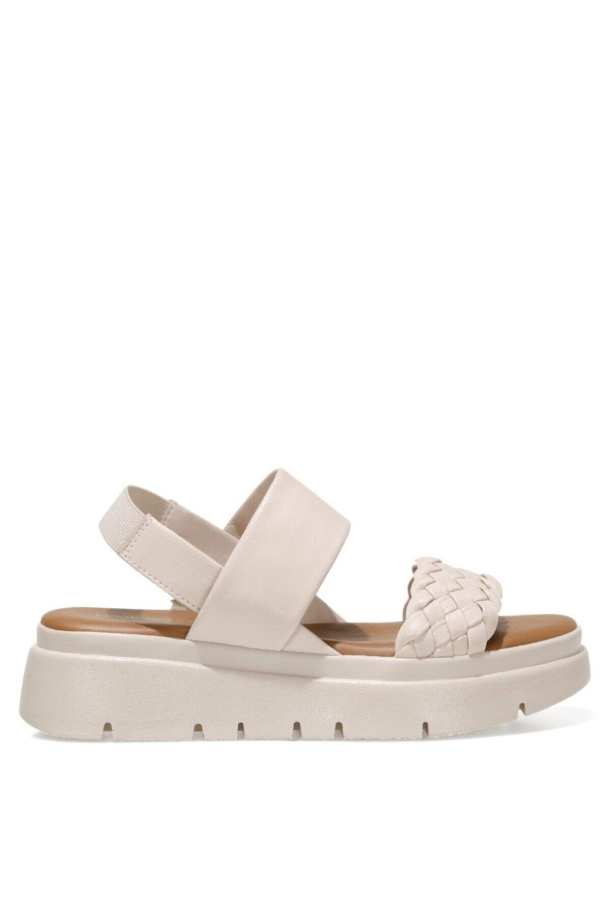 GUMMO 1FX Beyaz Kadın Sandalet 101028919