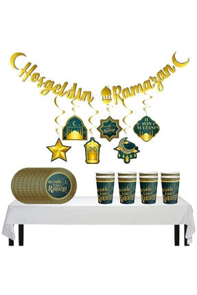 Hoşgeldin Ramazan 16 Kişilik X 40 Parça Set SuS-P-R-HR-16