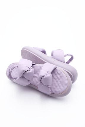 Marjin Kadın Lila Horev Dolgu Topuk Sandalet 0