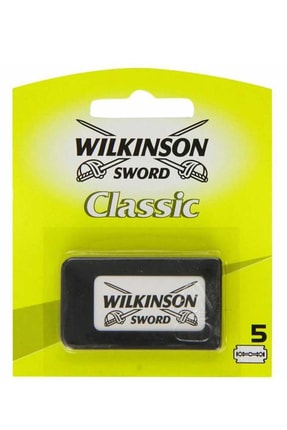 Wilkinson Klasik Yaprak Tıraş Bıçağı 5 Adet 0