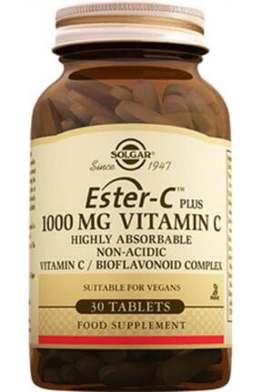 Solgar Ester-c Plus 1000mg 30 Tablet 1