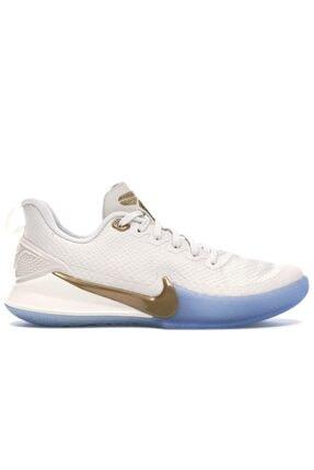 Nike Erkek Beyaz Mamba Focus Basketbol Ayakkabısı 0