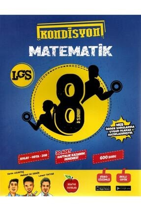 Newton Yayınları 8. Sınıf Kondisyon Matematik Deneme Kitabı 0