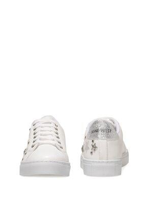 Nine West ARTEMIS 1FX Beyaz Kadın Havuz Taban Sneaker 101004867 4