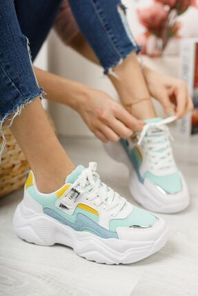 Moda Frato Topuklu Kadın Spor Ayakkabı 1