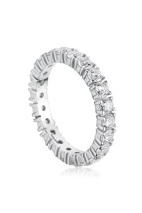Valori Jewels 7.92 Karat Zirkon Taşlı, Gümüş Su Yolu Bileklik, Tamtur Yüzük Ikili Set Kombini 2