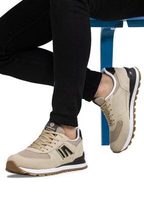 Ayakkabix Erkek Bej Günlük  Spor Ayakkabı 1