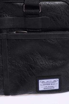 Sword Bag Siyah Laptop & Evrak Çantası 4