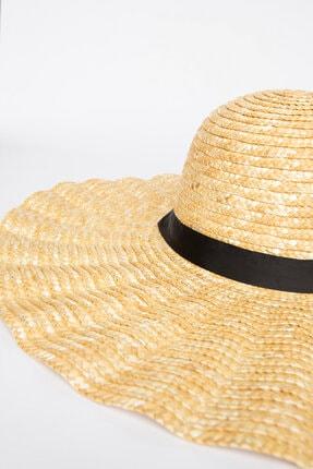 Penti Ekru Shell Straw Şapka 1