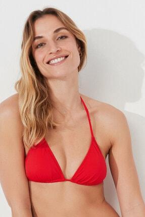 Penti Kırmızı Basic Üçgen Bikini Üstü 1