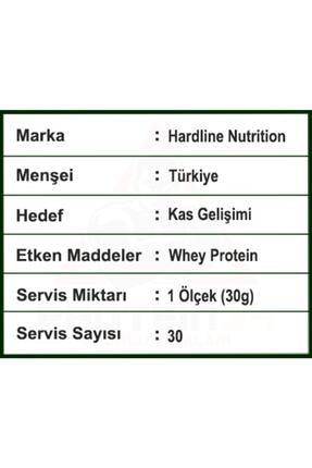 Hardline Whey 3 Matrix Çikolata Aromalı Protein Tozu 3